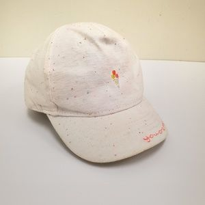 H&M toddler girls embroidered cap